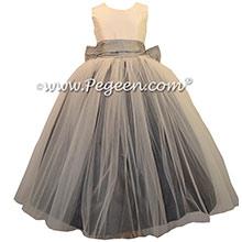 Baby Pink -- Custom Tulle Ballerina Style Jr. Bridesmaids Dress
