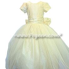 NEW IVORY  tulle flower girl dresses