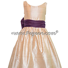 1000 NIGHTS AND BABY PINK JR. BRIDESMAID DRESS STYLE 388 BY PEGEEN