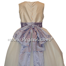 Victorian and New Ivory Silk Flower Girl Dresses from Pegeen Style 402