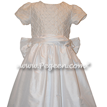 Antique White First Communion Dress Style 409