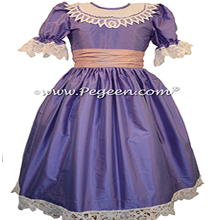Periwinkle and Pink Nutcracker Party Scene Dress