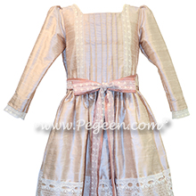 Blush Pink and Lace Clara Nutcracker Party Scene Dress