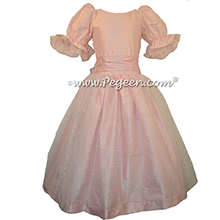 Pink Clara Party Dress for Nutcracker Ballet in Buttercreme - Part of the Nutcracker Collection by Pegeen Style 755