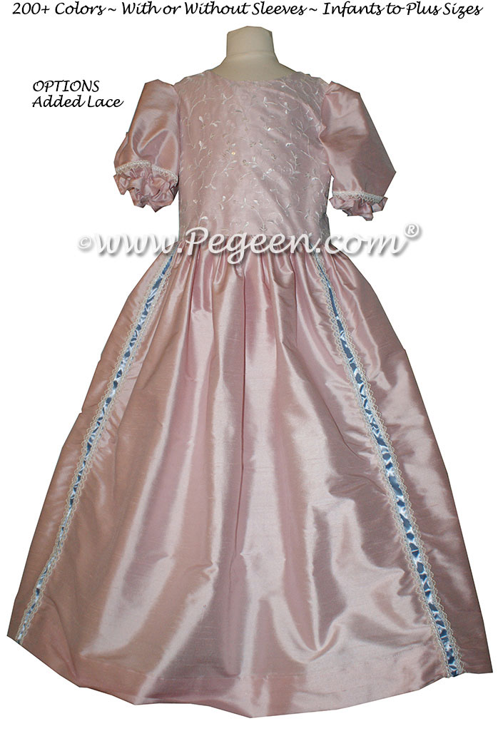 Peony Pink Nutcracker Party Scene Dress by Pegeen Style 760