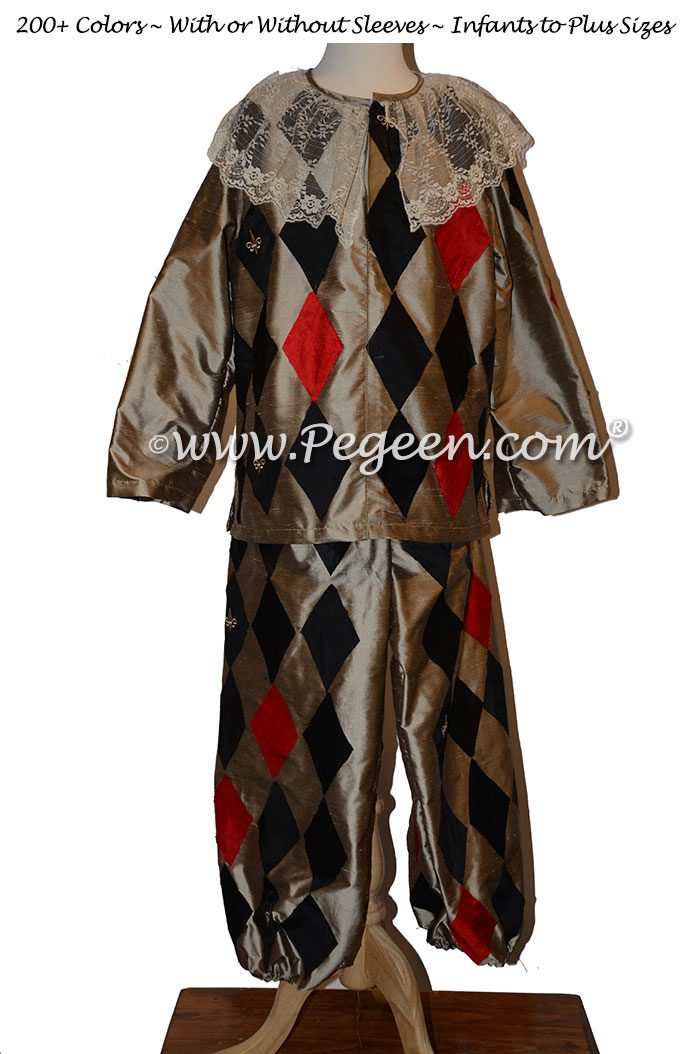 Harlequin Nutcracker Male Suit Style 783 by Pegeen