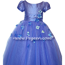 Flower Girl Dress Style 900 - Earth Fairy from the Fairytale  Collection in Periwinkle