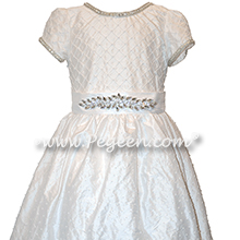 Antique White First Communion Dress Style 982