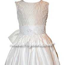 Antique White First Communion Dress Style 984