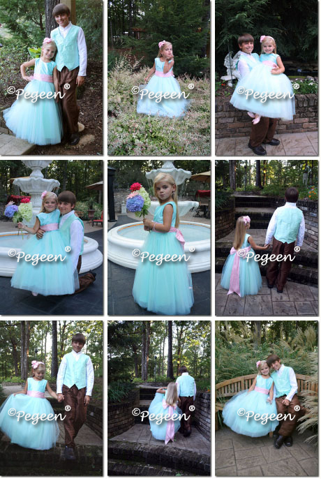 Be in our flower girl dress commercials here in Orlando