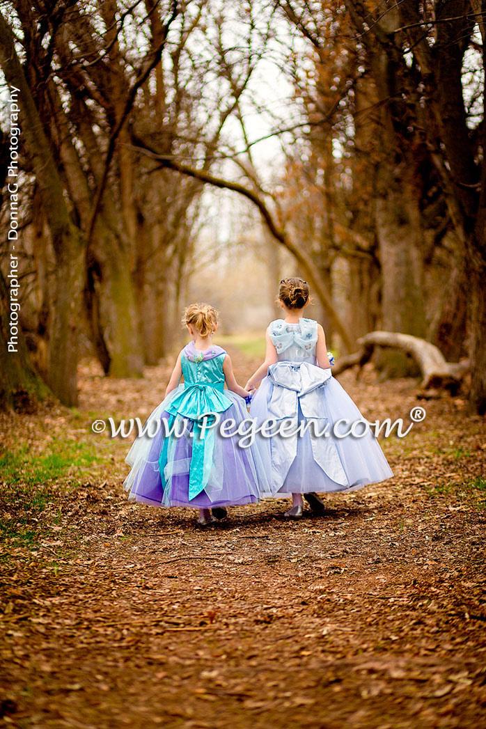 Disney Cinderella Inspired Flower Girl Dress