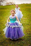 Introducing our new Cinderella Flower Girl Dresses from The Fairy Tale Collection by Pegeen