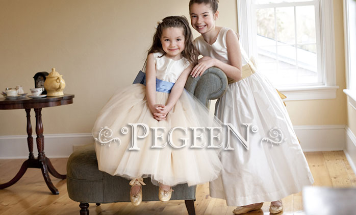 Couture style tulle  Flower Girl Dress Style 402