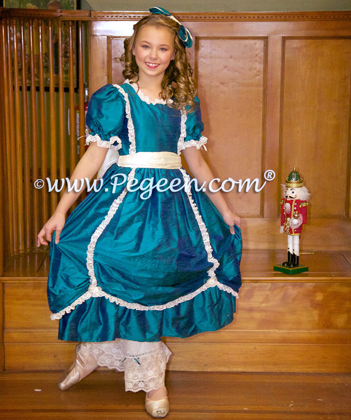 Victorian Style Nutcracker Clara Costume by Pegeen.com