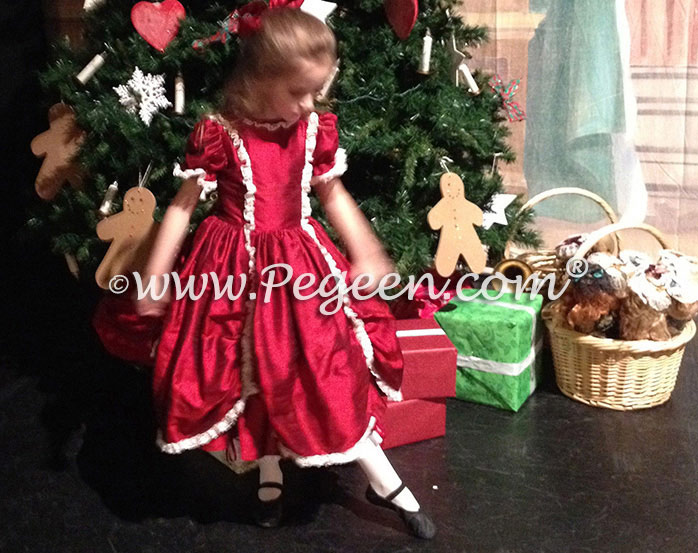 Details on this Nutcracker costume and Party Scene dress