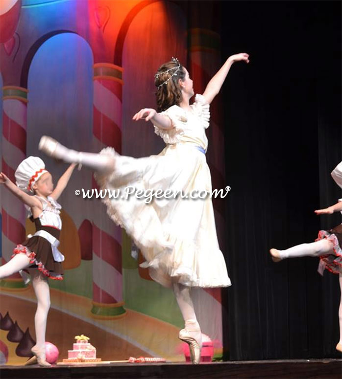 Nutcracker Ballet Clara Party Scene Dresses