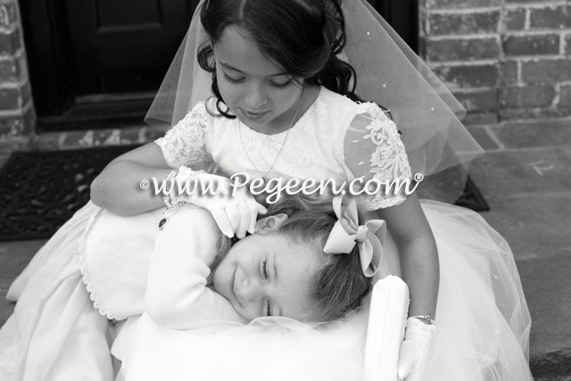 White First Communion Dresses or Flower girl dresses