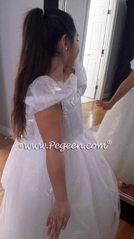Cinderella First Communion or Flower Girl Dress from The Fairy Tale Collection Pegeen Style 914
