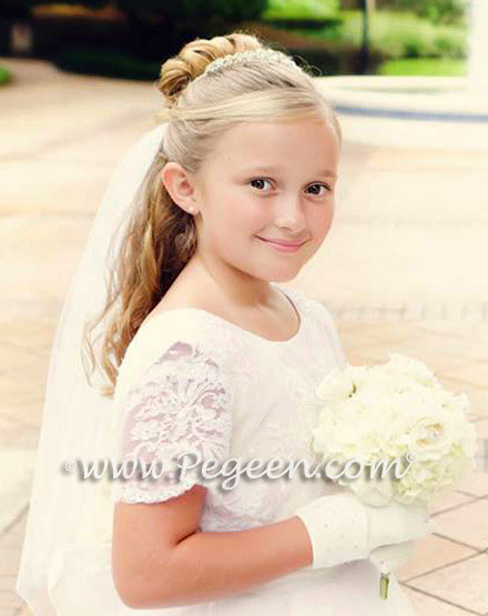 From The Regal Collection -  Victoria Style 697 was used for a First Holy Communion