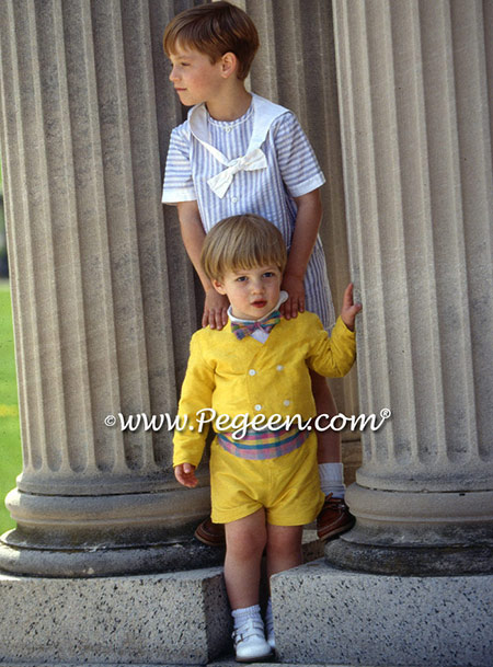 CUSTOM BOY'S SILK RING BEARER SUIT
