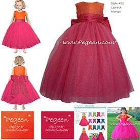 Design your own custom flower girl dresses