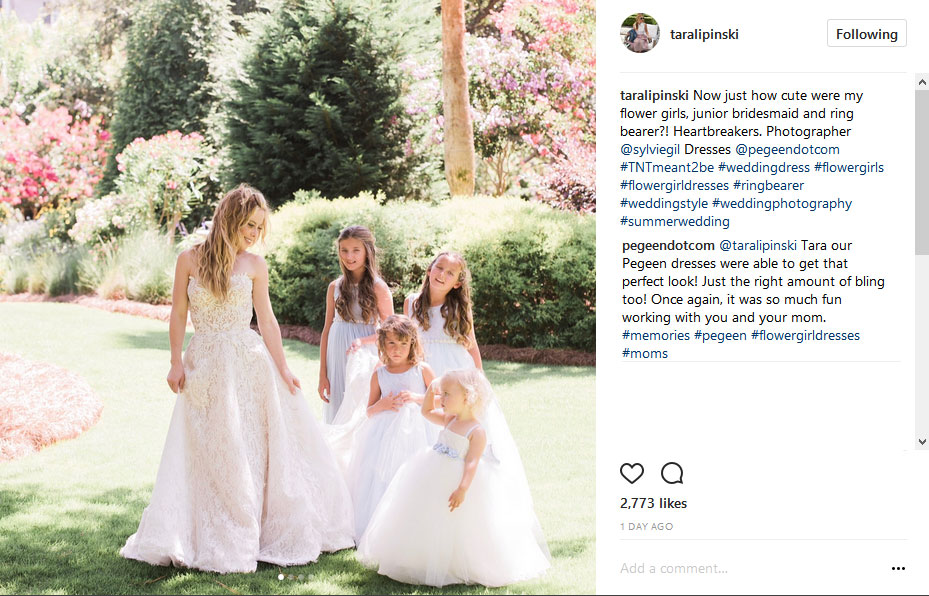 Olympic Skater Tara Lapinski's Wedding - preview