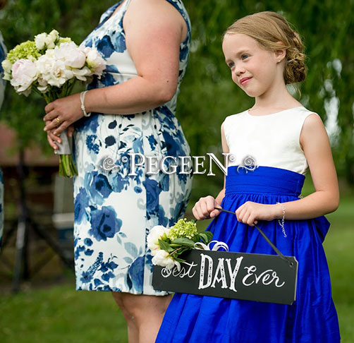 Sapphire Blue and Indigo Wedding of the Month
