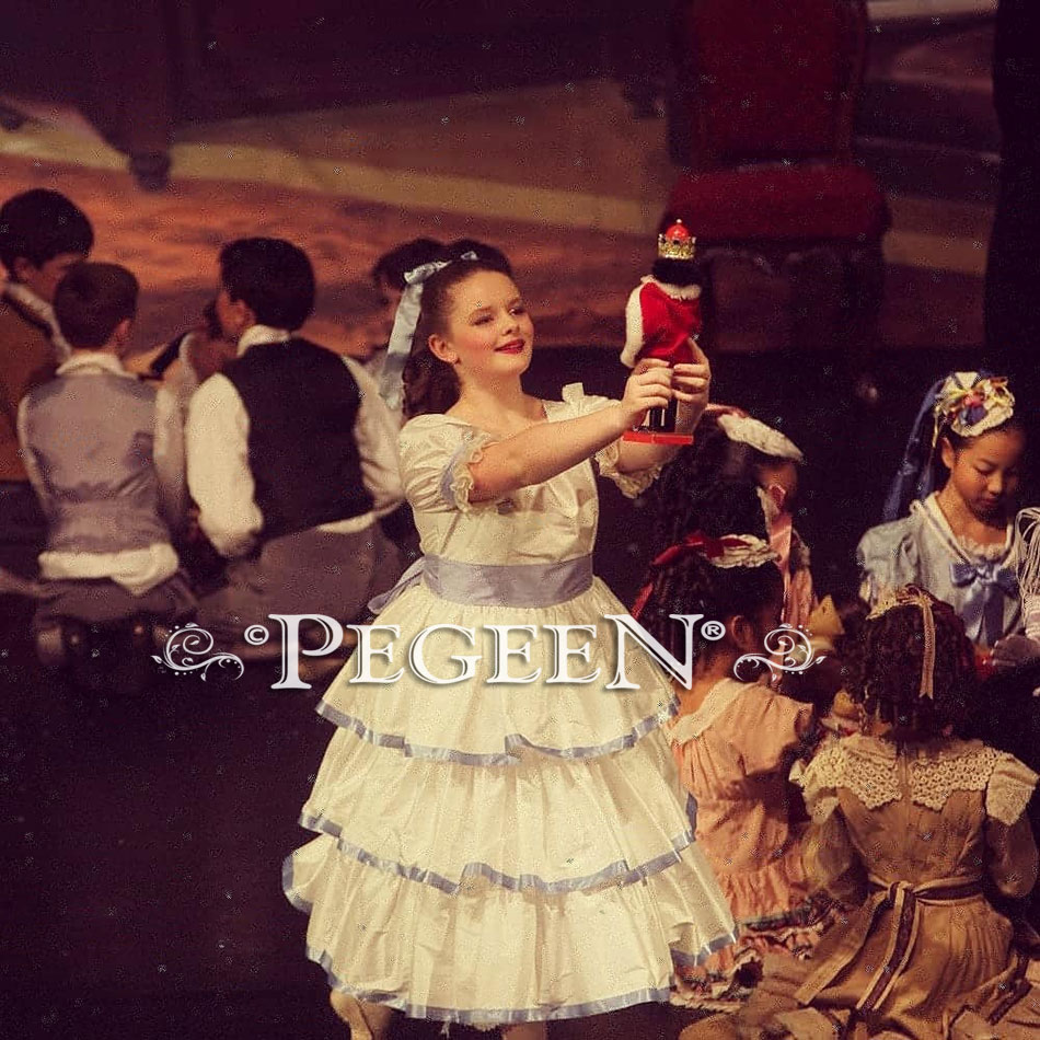 Nutcracker Costume for Clara in the Party Scene Style 757