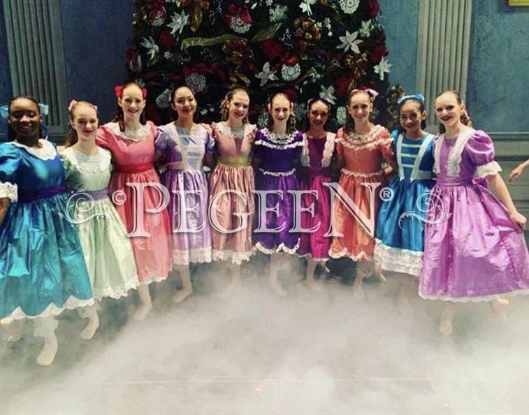 Purple Nutcracker Costume & Party Scene Dress