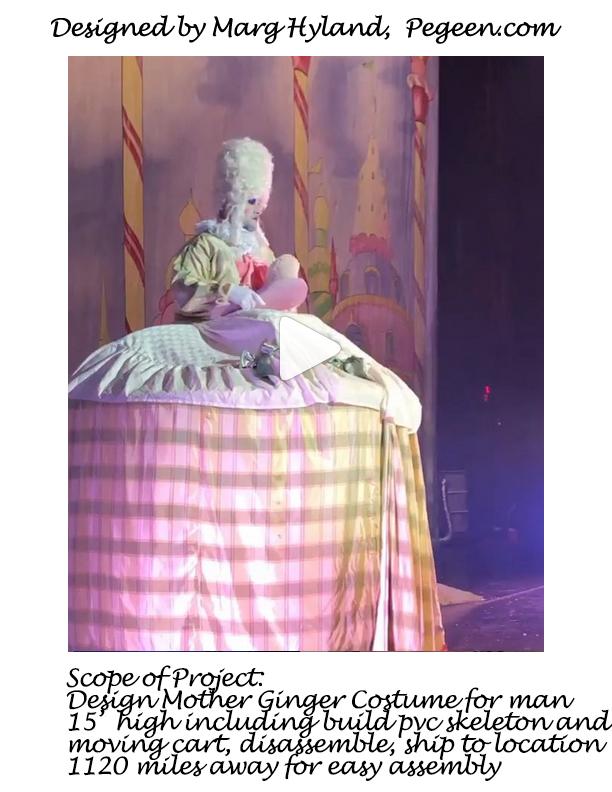 Mother Ginger costume for The Nutcracker Ballet