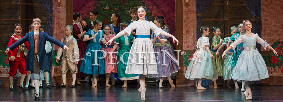 Clara, Nutcracker Party Scene Dresses and Boy's Costumes