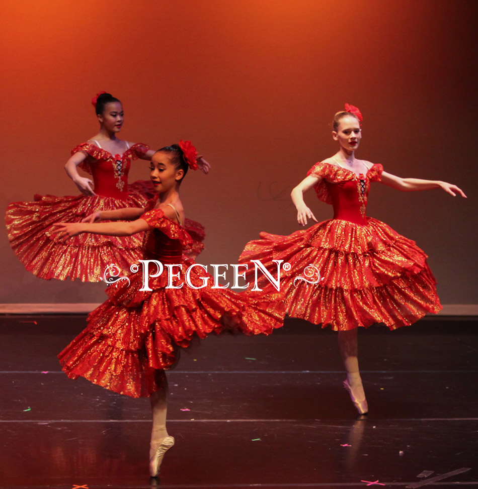 Spanish Dancers from Nutcracker Styles for the ballet