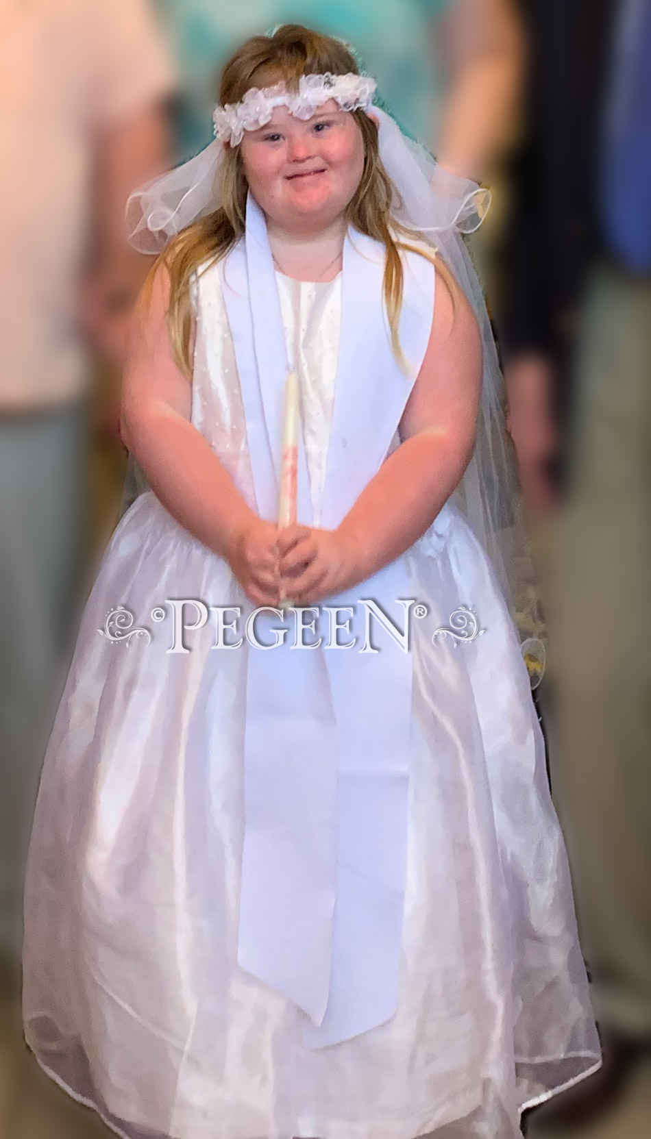 Plus Size First Communion or Flower Girl Dress of the Month - August 2019