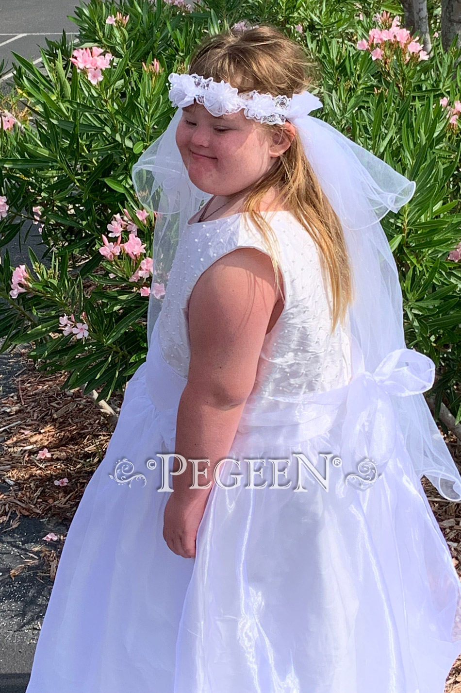 Plus size First Communion Dress