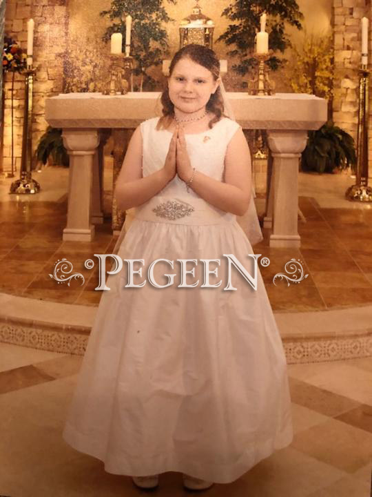 Plus Size First Communion Dresses - Pegeen