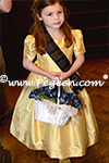 Flower Girl Dresses in yellow and plaid