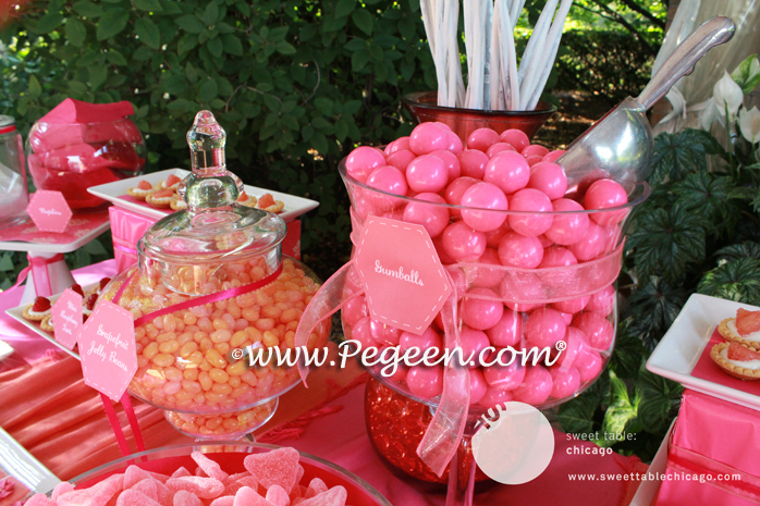 Set up a children's treat table at your wedding