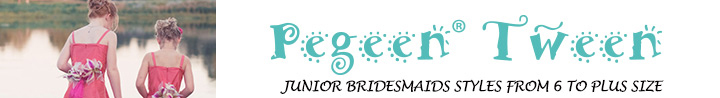 Tweens and Junior Bridesmaids | Pegeen