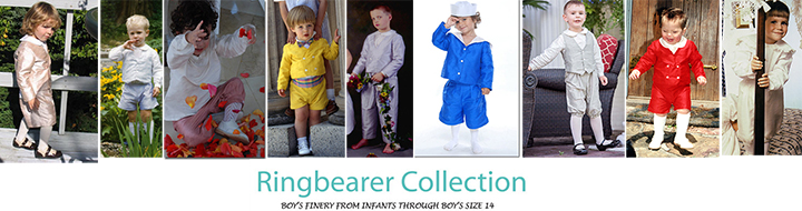 Boys Ring Bearer Suits