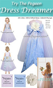 Design Your Own Flower Girl Dress