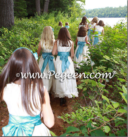 Walking through the woods... 22 flower girl dresses