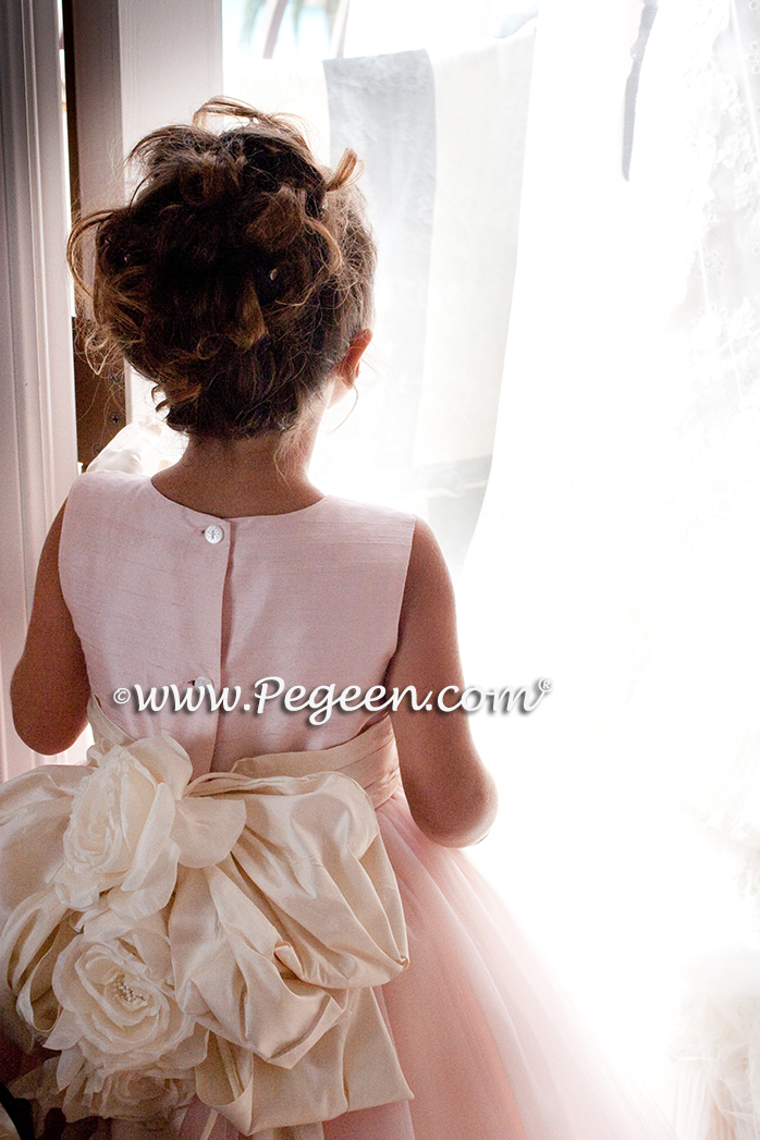 Flower girl dress Style 402 was used for our 2011 Wedding of the Year