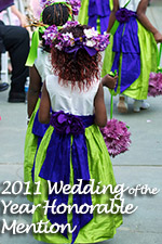 Wedding of the Year 2011 Honorable Mention