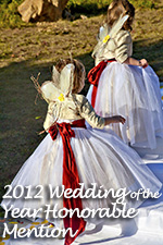 Wedding of the Year 2012 Honorable Mention