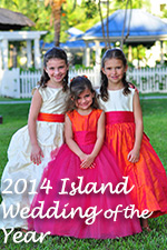 Island Wedding of the Year - Dress of the Year 2014