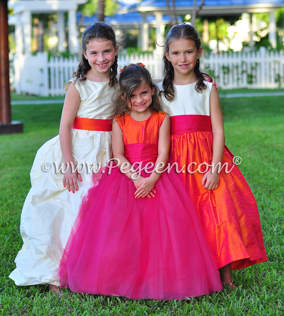 2014 Island Wedding & Flower Girl Dresses of the Year | Pegeen