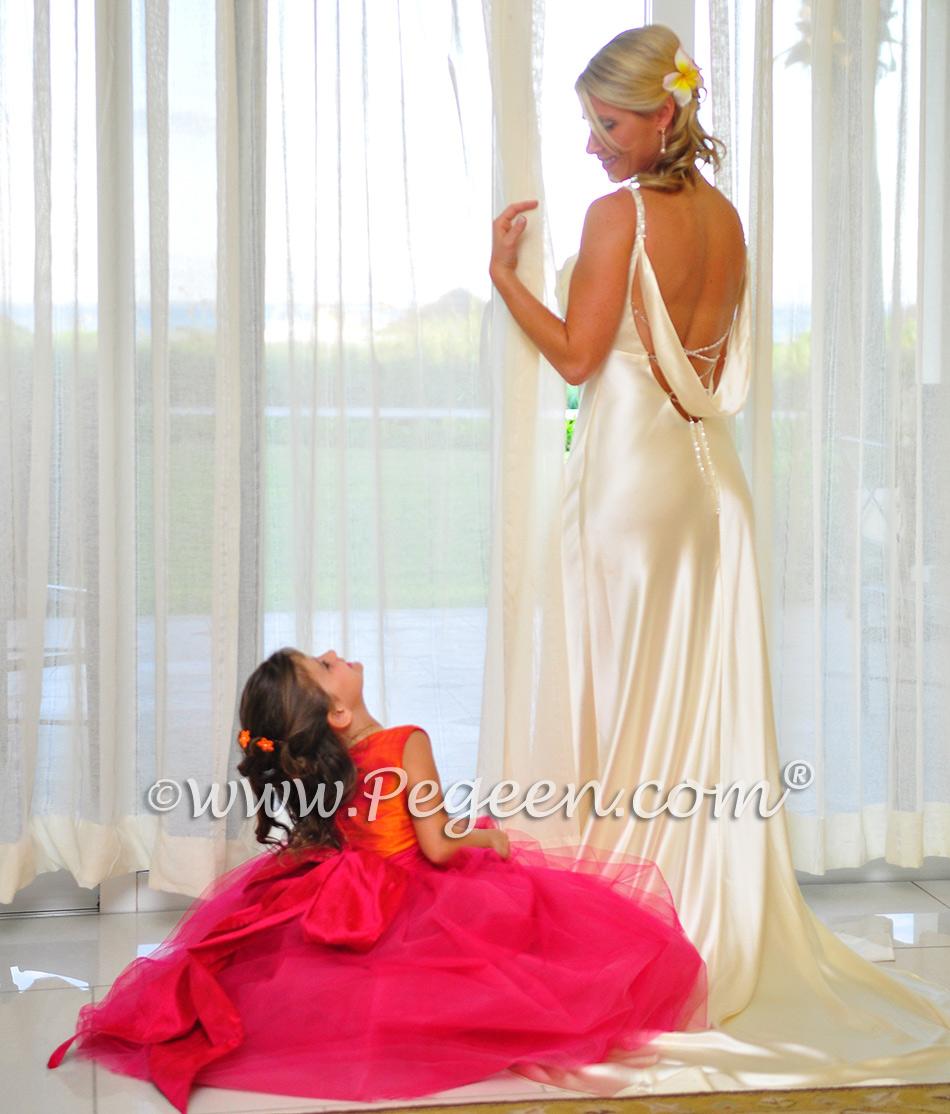 2014 Island Wedding & Flower Girl Dresses of the Year | Pegeen