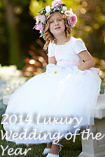 2014 Luxury Flower Girl Dresses/Wedding of the Year