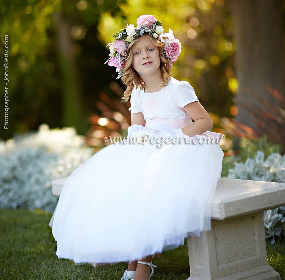 2014 Luxury Wedding Flower Girl Dresses Of The Year Pegeen