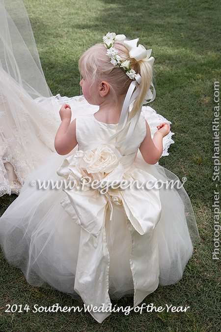 2014 Southern Flower Girl Dresses/Wedding of the Year